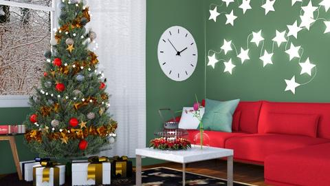 Christmas Star - Living room - by _firecrackers