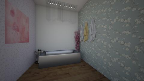 Cherry Blossom Bathroom - Bathroom  - by Mckenna11