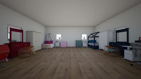 compartida - Kids room  - by Queen132008