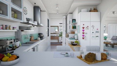 L_Kitchen - Kitchen  - by Elaenerys