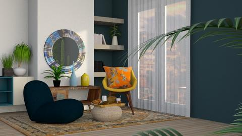 MIL_CC - Modern - Living room  - by CitrusSunrise