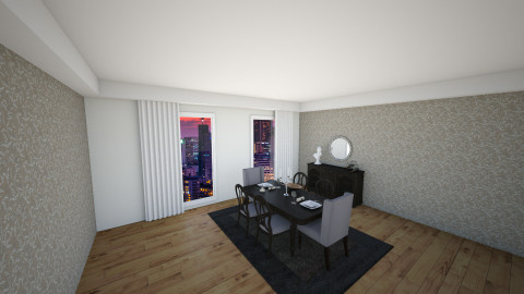dinning room - Modern - Dining room - by Kim Youn ji