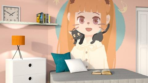Anime - Minimal - Kids room  - by designkitty31