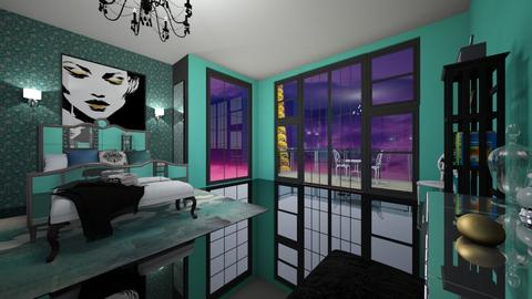 Paris and her - Glamour - Bedroom  - by fashiondesigner7