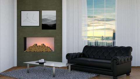 City skyscrapers - Modern - Living room  - by Aristar_bucks