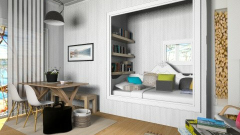 Scandinavian  insp - Country - Bedroom  - by pachecosilv