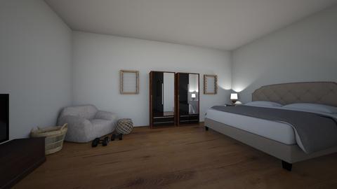 Aubrey R Master Bedroom  - Bedroom  - by aubreyriojas