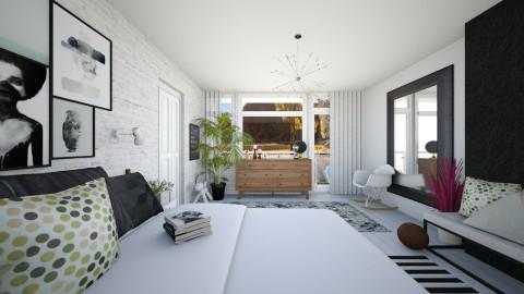 Bedroom redesign - Modern - Bedroom  - by Ta yhy