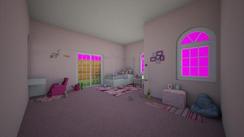 kids room - Feminine - Kids room  - by wolfiewolf123