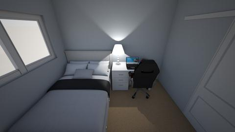 LUCAS SAXBY ROOM DESIGN 1 - Modern - Bedroom  - by lucas saxby