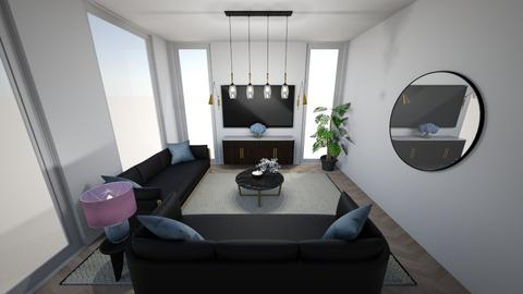 Modern living room  - Living room  - by Daively__1000