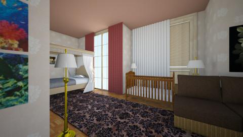 bedroom K21 - Glamour - Living room  - by Boka i Deki