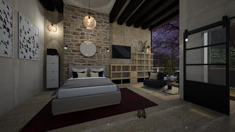 City Bedroom - by Celia Schrag