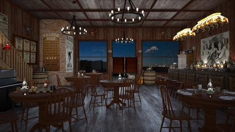 Design 466 Western Saloon Evening - Dining room - by Daisy320