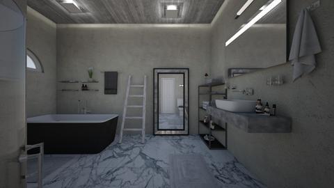 Freestanding Bath - Modern - Bathroom  - by PeculiarLeah
