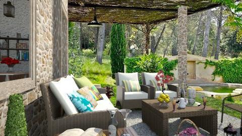 Pleasant pastime - Garden  - by milyca8