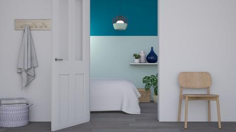 BLU - Bedroom  - by Maria Esteves de Oliveira
