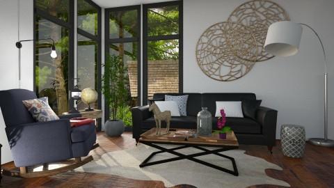 Grande y Fuerte es Dios - Living room - by Hija de Dios