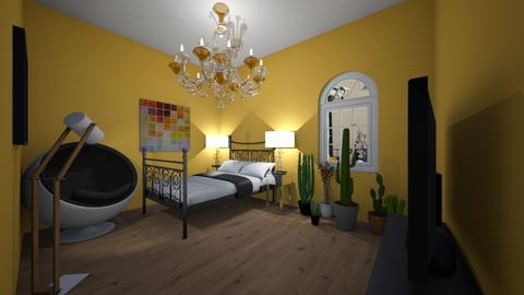 cactus light room - Country - Bedroom  - by aschaper