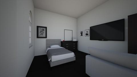 the epic bedroom - Modern - Bedroom  - by liltray75