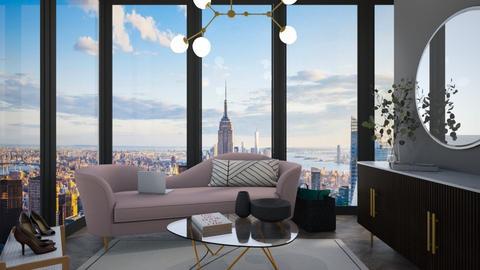 Chic - Living room  - by LazyPureRain