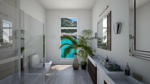 sleek - Modern - Bathroom  - by Muoz Rebeca