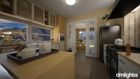 EastWestKitchenRoom - Kitchen  - by DMLights-user-1063855