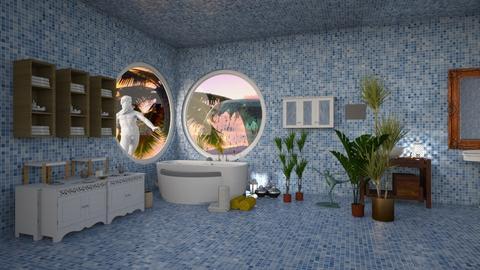 Planten en ontspannen - Country - Bathroom  - by kolibrie_designer