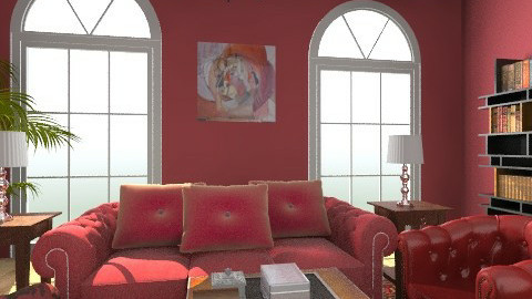 red12 - Classic - Living room  - by bisertanya