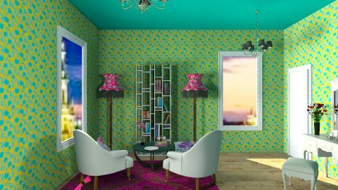 room 3 - Eclectic - by Rodrigues Sasquia