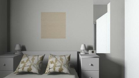 Small bedroom - Minimal - by Natalia6032