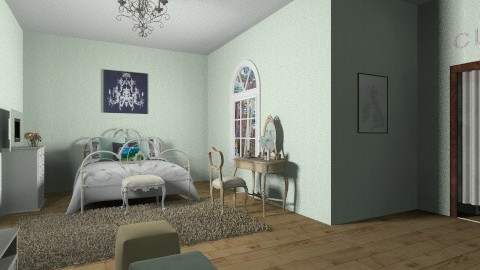 bedroom - Classic - Bedroom  - by silac26