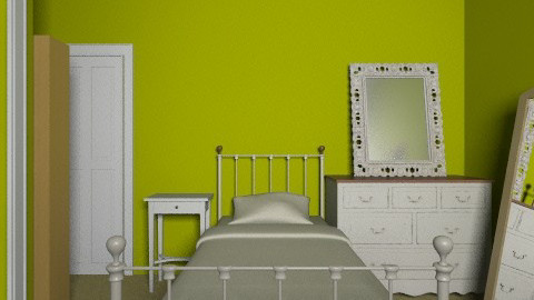 Bedroom 2  - Retro - Bedroom - by milly898