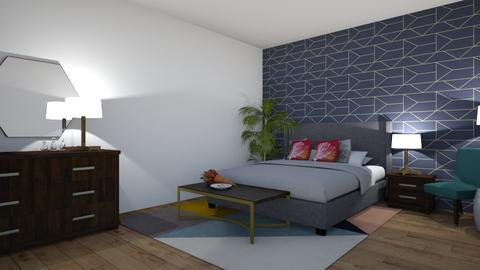 bedroom - Modern - Bedroom - by Jessica Evelyn