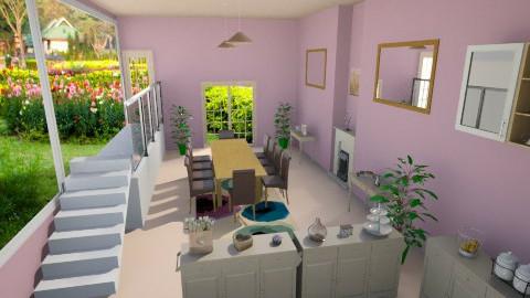 PB Kitchen - Kitchen - by ReneaaQ