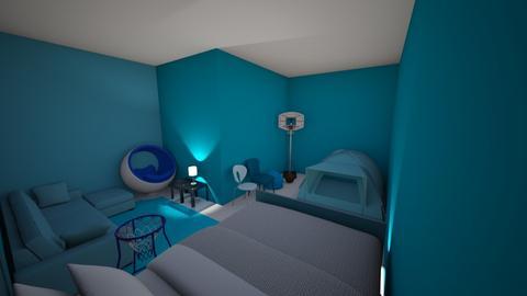 Tylers Amazing Room - Modern - Bedroom  - by Tyler Liguori