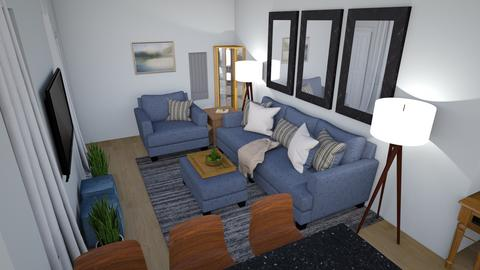 LS for Jose n Lorraine - Living room  - by TheDutchDesigner