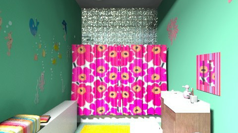 Modern Kid Bathroom - Glamour - Kids room  - by Narcisse94