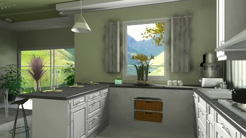kitchen - Kitchen  - by Ania Daliva