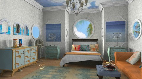 On the beach bedroom - Glamour - Bedroom  - by wiljun
