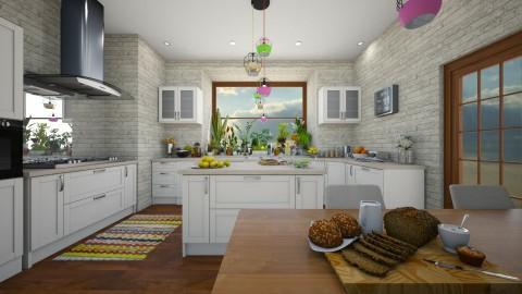 Kitchen 2 - Modern - Kitchen  - by camilla_saurus