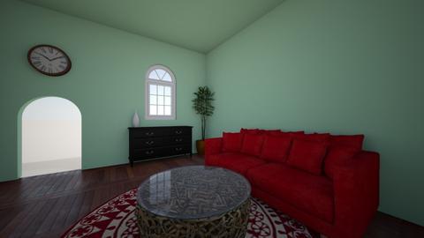 Watermelon Living Room - by Abbas Al Oraifi