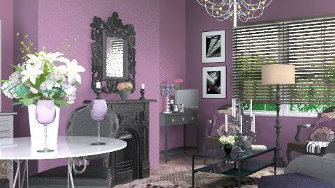 purpleliving - Glamour - Living room  - by yasemin04