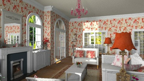 Cottage Style - Vintage - Living room - by Bibiche