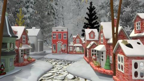 Christmasstown - Classic - Garden  - by Bibiche
