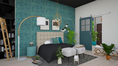 Turquoise  - Eclectic - Bedroom - by Sidney_stylingxx