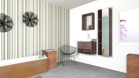 Bathroom - Classic - Bathroom  - by Tibbyychere