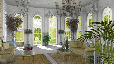 Sitting Room - Classic - Hallway  - by Bibiche