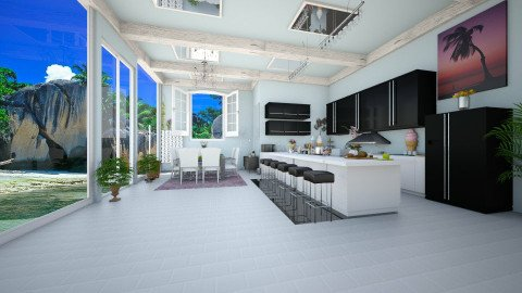 OPEN KITCHEN 2 - Modern - Kitchen  - by deleted_1536076557_Nicol26