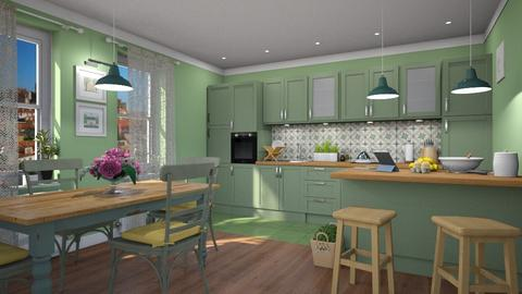 Mouraria - Eclectic - Kitchen - by Claudia Correia